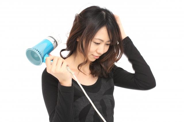 髪を乾かすのが面倒