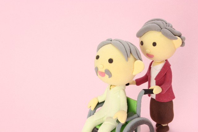 車椅子や高齢者のお花見