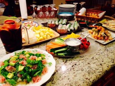 簡単夏のおもてなし料理