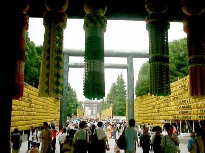 靖国神社 みたままつり 2015