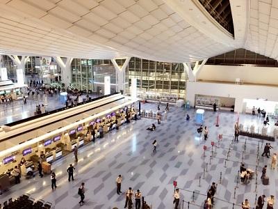 国内線の空港到着は何分前まで?