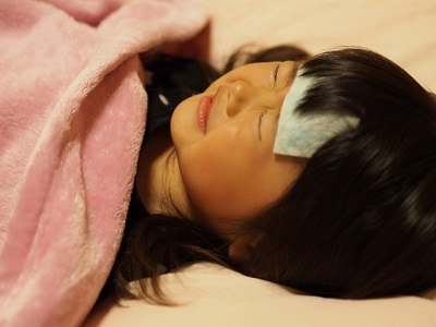 インフルエンザの子どもの対処