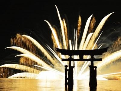 宮島水中花火大会のおすすめスポット